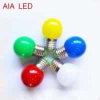 Best Christmas LED bulb outdoor E27 IP44 led RGB lamp for park decorative wholesale