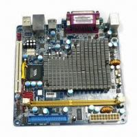 Best Mini-ITX Motherboard with Onboard via C7 1.6GHz CPU, Fanless with 2 x Com Ports, Support DDR2 wholesale