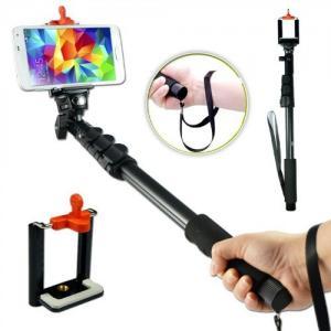 Best 123CM extendable telescopic handheld Pole Arm monopod Camcorder/Camera/mobile phone wholesale