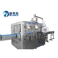 Soft Drink Bottle Rinsing Filling Capping Machine Mineral Water Production Line