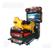 Best 3D Dynamic HD Racing Game Machines L1560*W26004H2400mm For One Player wholesale