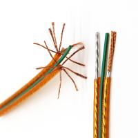 China Flat Shielded Speaker Cable Audio Home Theater Copper Wire 18 Awg 21 Awg Speaker Cable on sale