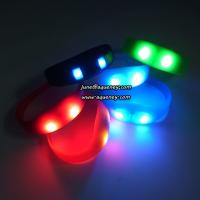 Best Buy the newest LED PULSE Motion sensor light up wristbands bracelets wholesale