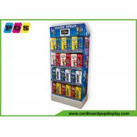 4 Shelves POP Toy Display Stand Glossy Lamination For Magic Spray FL161