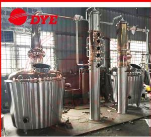 Best 150Gal CopperAlcohol Distiller Equipment , Alcohol Distillation Equipment wholesale
