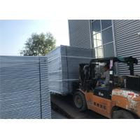 China OD 40mm x 1.6mm wall thickness temporary fencing panels Mesh 60mm x 150mm diameter on sale