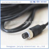 Best Customized 3 Pin Backup Camera Cable , PVC Jacket Backup Camera Extension Cable wholesale