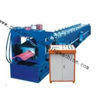 Best 7.5Kw Tile Roof Ridge Cap Roll Forming Machine 0.3mm - 0.7mm for Steel Prefab House wholesale