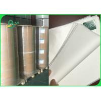 FDA Eco - Friendly Uncoated White Sack Kraft Paper For Bags 30gsm 35gsm 42gsm