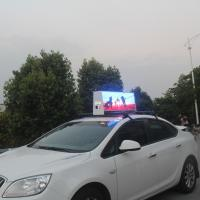 Best 3G WiFi GPS Full Color Taxi Top LED Display Outdoor 220V / 50HZ For Rental wholesale
