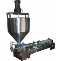 Best G1WGDB500 Pneumatic Thick Sauce Vertical Mixing Filling Machine wholesale