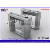 Cheap Biometric Recognition Tripod Turnstile With Remote Button Control , CE Approval for sale