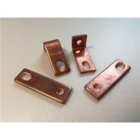 Best Thick Bended Pure Copper Sheet Metal Bending Dies One Fixed Hole / Adjustable Hole wholesale