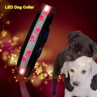 Best C903 Wholesale Factory Christmas Flashing Lights Usb Rechargeable Light Up Led Dog collars wholesale