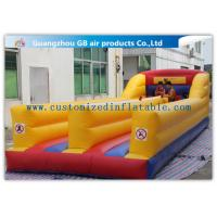 Best Outdoor Kids Match Inflatable Sports Games , Inflatable Bungee Run with Two Lines wholesale