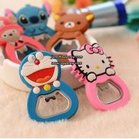 Best Cute cartoon design silicone bottle opener for promotion wholesale