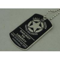 Best Military Die Casting Zinc Alloy Metal Pet Tag Dog Id Tags Nickel Plating wholesale