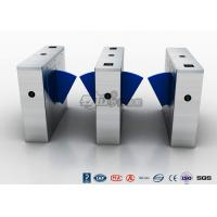 Best Multi - Lane Half Height Turnstiles , Optical Flap Barrier Access Control Turnstile wholesale