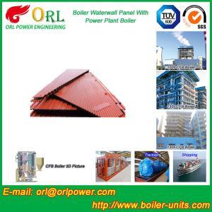 Best Vacuum Boiler Water Wall Panels / Water Tube Boiler Parts High Efficiency wholesale