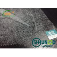 Buy cheap Lightweight EVA Adhensive Non Woven Interlining With Low Melt Points from wholesalers