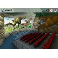 Best Large 360 Degree Screen 4D Movie Theater With 4D Simulator Can Hold 60-100 People wholesale