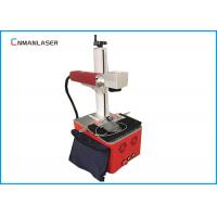 Best 220V Raycus Fiber Laser Marking Machine For Fabric , Long Service Life wholesale