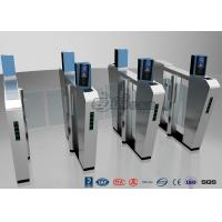 Cheap Waist Height Turnstile Security Systems , Face Recognition Speed Fastlane for sale