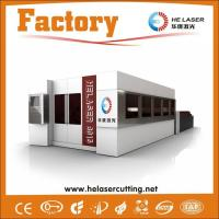 Quality IPG Carbon Steel / stainless steel sheet cutting machine with 45m/min Speed wholesale