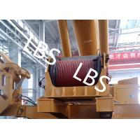Best Electric / Hydraulic Crawler Crane Winch Crane Windlass Groove Drum wholesale