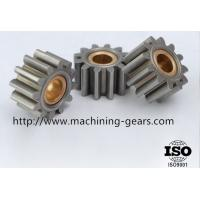 Quality Industrial Metal Straight Spur Gear Tooth Wheel 0.03mm Machined Tolerance wholesale