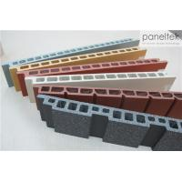 Best Building Facade Clay Tile Wall Cladding Anti - Cold With Self - Cleaning System wholesale