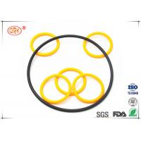 China Buna O Rings Yellow Fuel And Oil Resistant  Abrasion Resistance For Automotive on sale