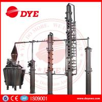 Best 100% Red Copper Whisky Distilling Equipment Vodka Alcohol Distillation Process wholesale