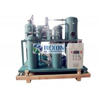 Best Water Removal Hydraulic Oil Filter System , Vacuum Dehydrator Oil Purification System wholesale