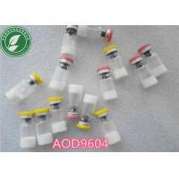 Buy cheap Pharmaceutical Polypeptide Lyophilized Powder Aod-9604 CAS 221231-10-3 from wholesalers