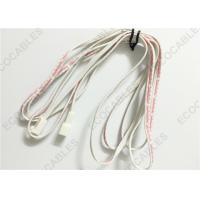 Best Molex 5240 UL2468 24awg Red / White Flat Ribbon Cables For Cabinet Lighting 2M Length wholesale