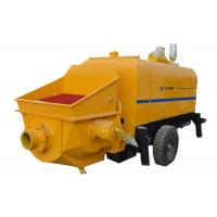 Best Hydraulic Cement Pumping Equipment , Small Portable Concrete Pump Machine wholesale
