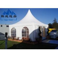Best Advertising Pagoda Party Tent With White PVC Window / Sidewall Curtain wholesale