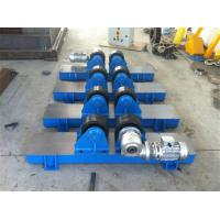 Quality Bolt Adjustment Heavy Duty Roller Stand , Hand Control Box Conventional Welding Rotator wholesale