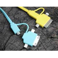 Best Colorful 1M 4 in 1 Multifunction USB Cable / Micro USB Charger Data Cable wholesale
