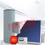 Best Split Pressurized Solar Water Heater , Flat Plate Water Heater Blue Titanium Coating wholesale