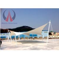 Quality Custom Lightweight Tensile Fabric Structures Canvas Covered Buildings UVA Resistant wholesale