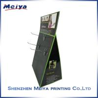 Best Customized table Hook cardboard display stand for small hair accessories wholesale