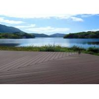 Cheap Waterproof Wpc Wood Plastic Composite Deck Boards Customized Color Easy Clean for sale