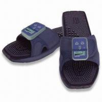 Best Feel Welaxe Massaging Slippers with Therapeutic Massage Soles and Leg Clamps wholesale