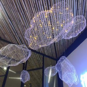 Cheap Luxury LED Modern Decorative Pendant Chandelier Cloud Light for sale