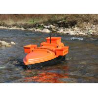 Buy cheap Orange deliverance bait boat , remote control fishing bait boat DEVC-202 from wholesalers