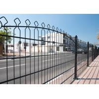 Best Anti Corrosion Double Wire Mesh Fence / Metal Wire Mesh Fence Weather Proof wholesale