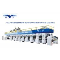 Quality Computer Gravure Press Gravure Printing Machine 8 Colors Working Speed Faster Than 300 m/min wholesale