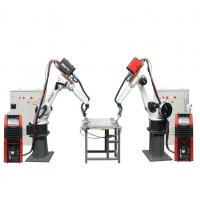 Cheap 220/380V Industrial Robot Arm 6 AXIS TIG / MIG / Welder New Condition Durable for sale